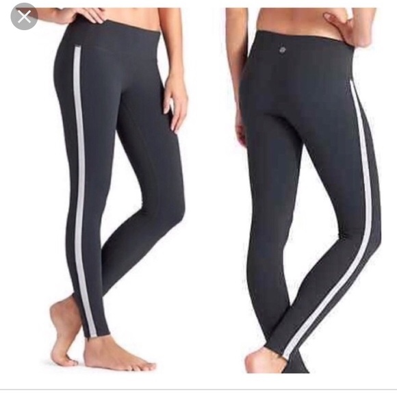 0012568430cac8 Athleta Pants | Athlete Tuxedo Leggings Size Small | Poshmark